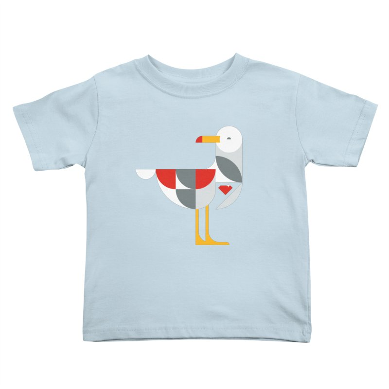Ruby Gull Kids Toddler T-Shirt by Ruby Threads