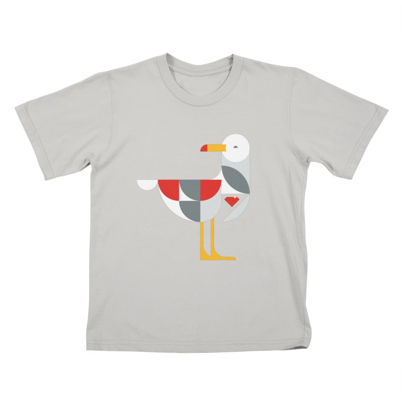 Ruby Gull Kids T-shirt by Ruby Threads