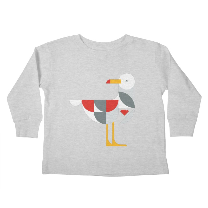 Ruby Gull Kids Toddler Longsleeve T-Shirt by Ruby Threads