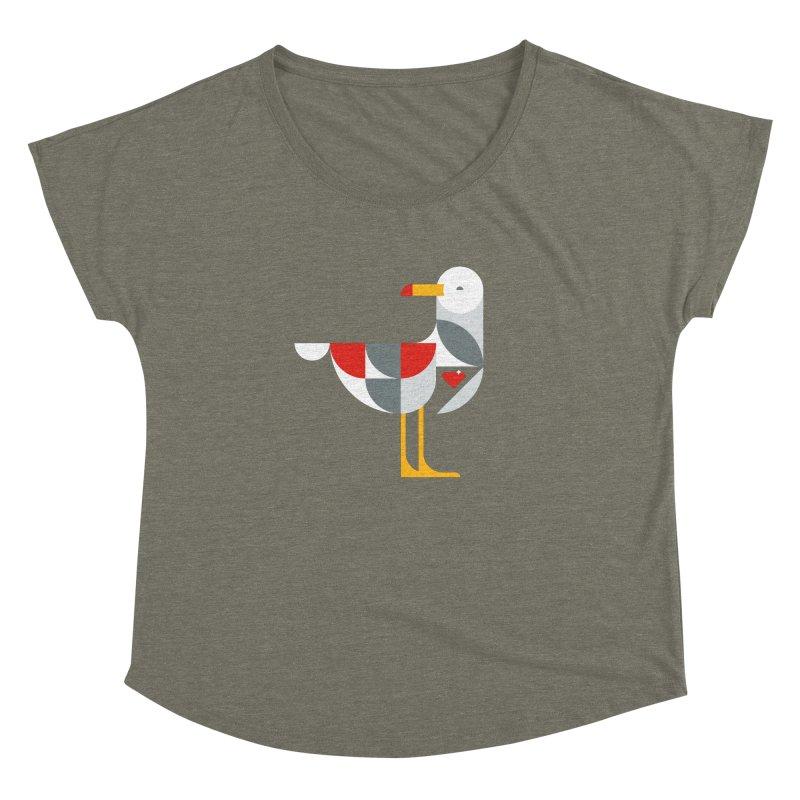 Ruby Gull Women's Dolman by Ruby Threads