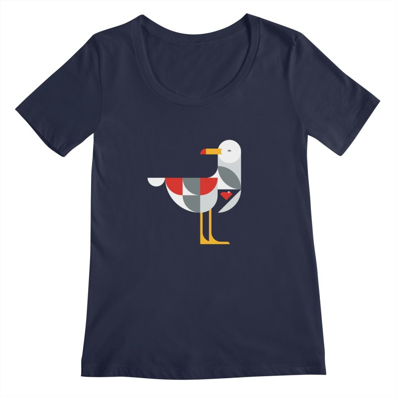 Ruby Gull Women's Scoopneck by Ruby Threads