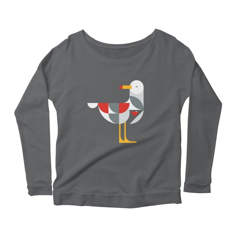Ruby Gull Women's Longsleeve Scoopneck  by Ruby Threads