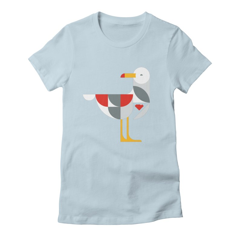 Ruby Gull Women's Fitted T-Shirt by Ruby Threads
