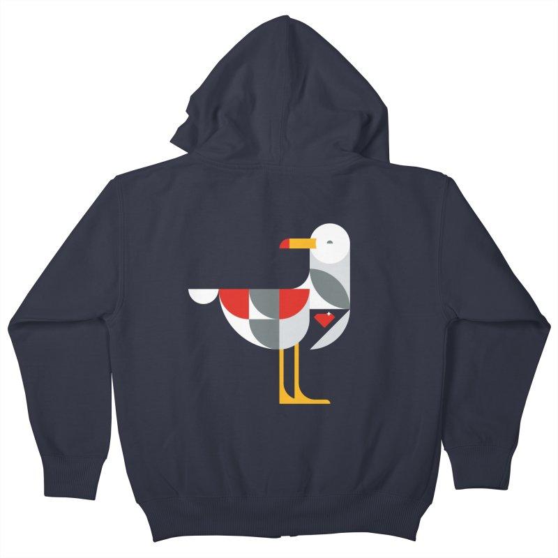 Ruby Gull Kids Zip-Up Hoody by Ruby Threads