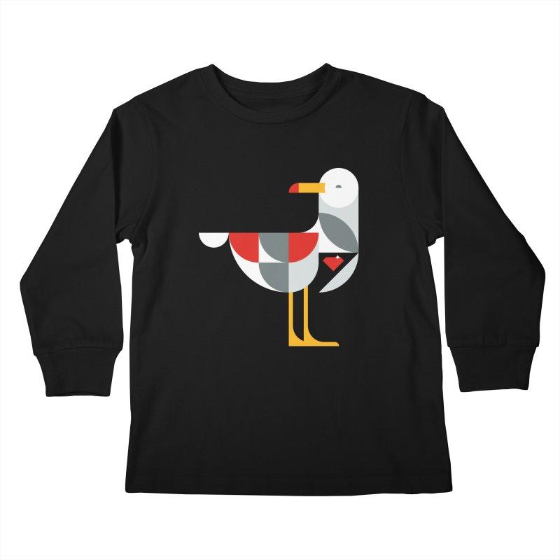 Ruby Gull Kids Longsleeve T-Shirt by Ruby Threads