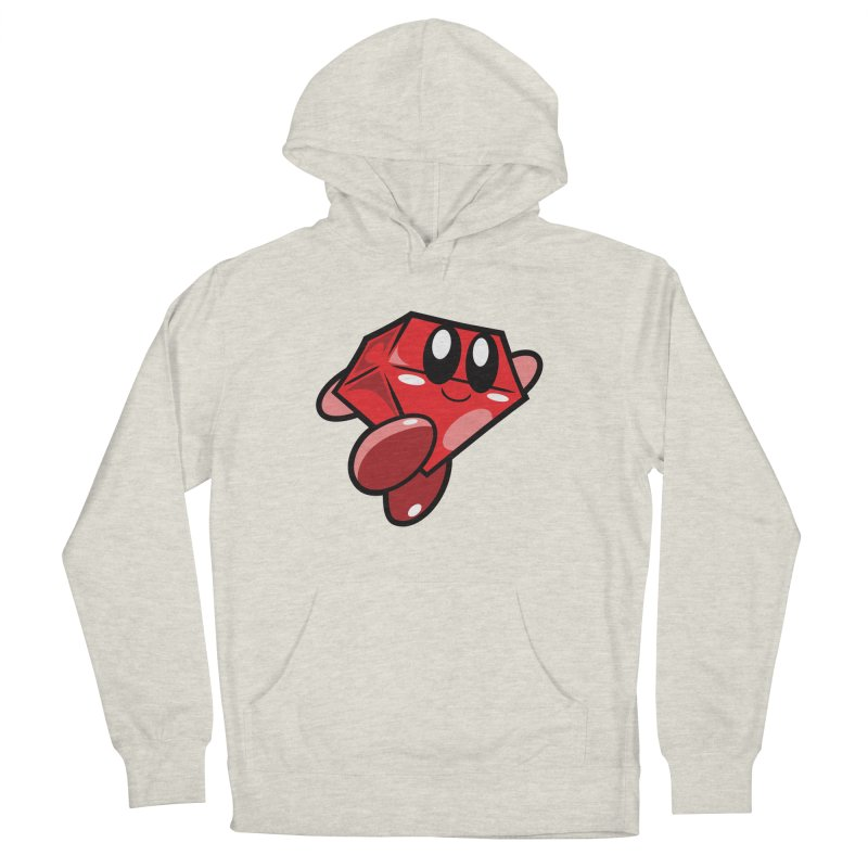 Happy Ruby Men's Pullover Hoody by Ruby Threads