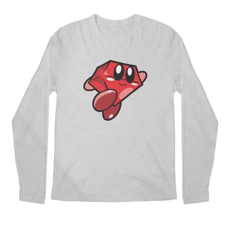 Happy Ruby Men's Longsleeve T-Shirt by Ruby Threads
