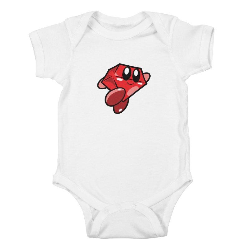 Happy Ruby Kids Baby Bodysuit by Ruby Threads