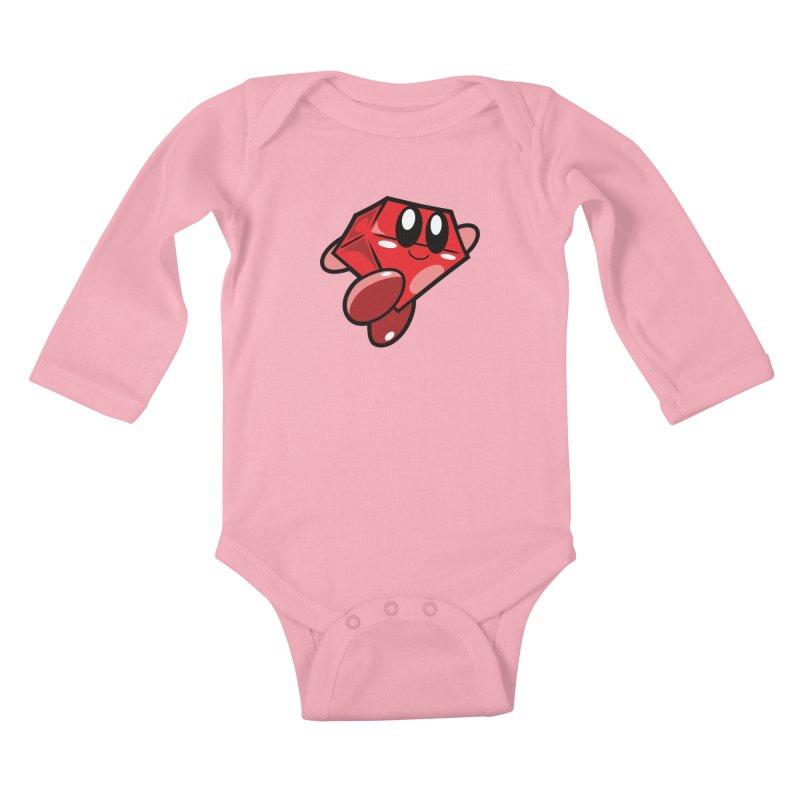 Happy Ruby Kids Baby Longsleeve Bodysuit by Ruby Threads