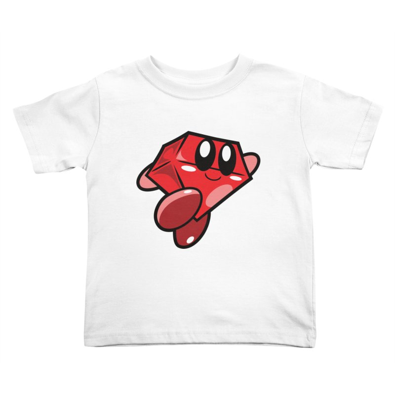 Happy Ruby Kids Toddler T-Shirt by Ruby Threads