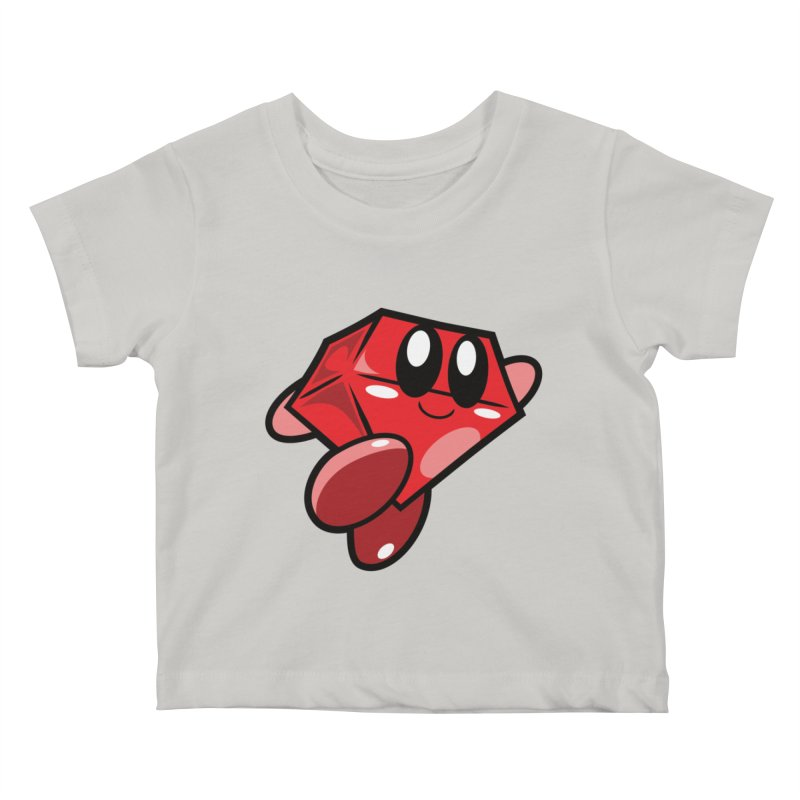 Happy Ruby Kids Baby T-Shirt by Ruby Threads