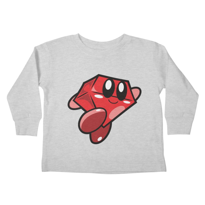Happy Ruby Kids Toddler Longsleeve T-Shirt by Ruby Threads