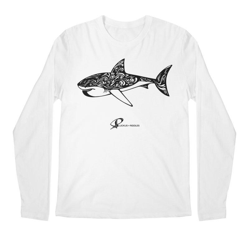 Shark 2020 Men's Longsleeve T-Shirt by Ruckus + Riddles