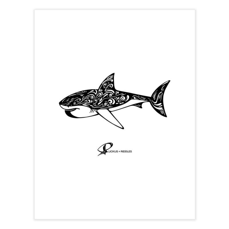 Shark 2020 Home Fine Art Print by Ruckus + Riddles