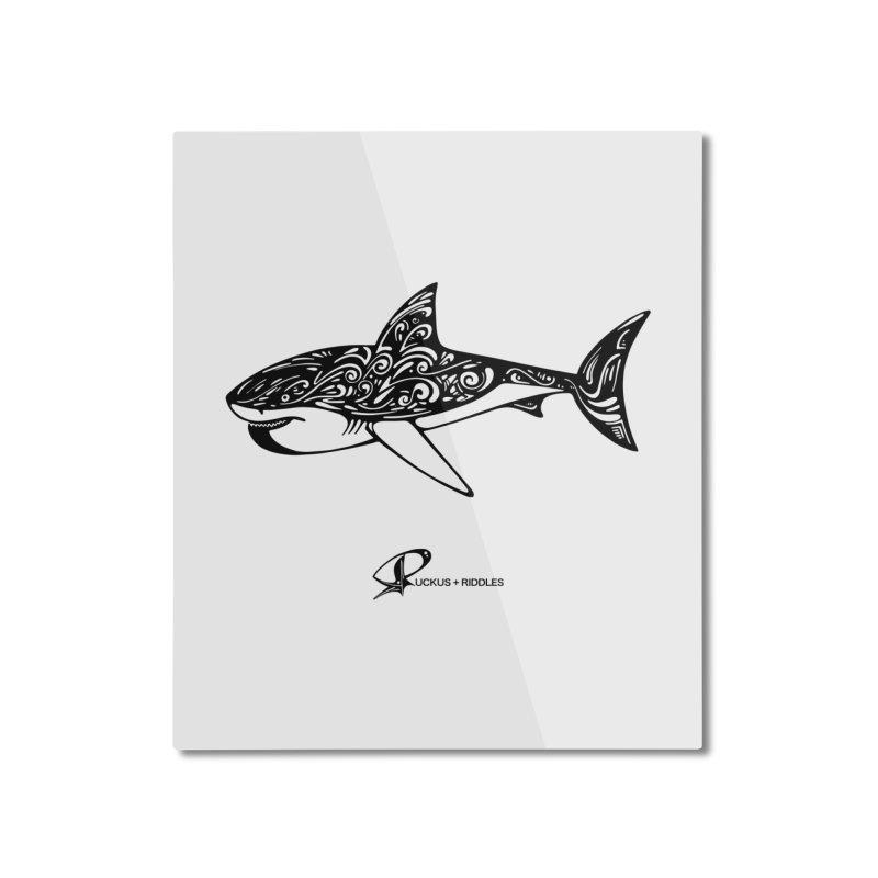 Shark 2020 Home Mounted Aluminum Print by Ruckus + Riddles