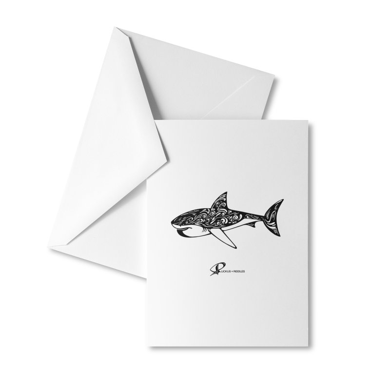 Shark 2020 Accessories Greeting Card by Ruckus + Riddles