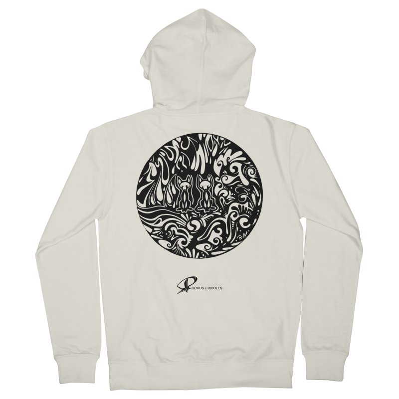 Foxes 2020 Men's Zip-Up Hoody by Ruckus + Riddles