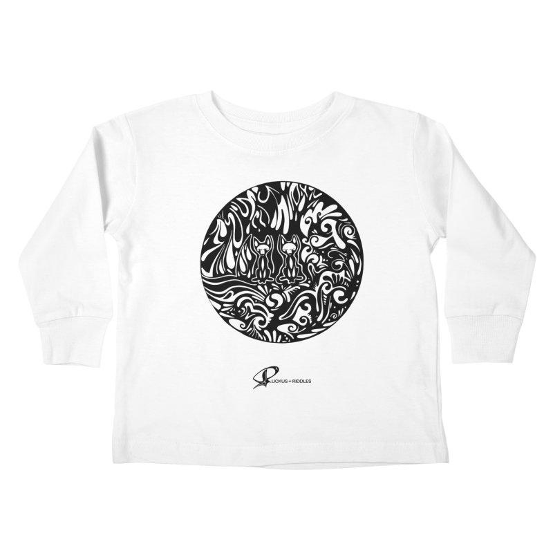 Foxes 2020 Kids Toddler Longsleeve T-Shirt by Ruckus + Riddles