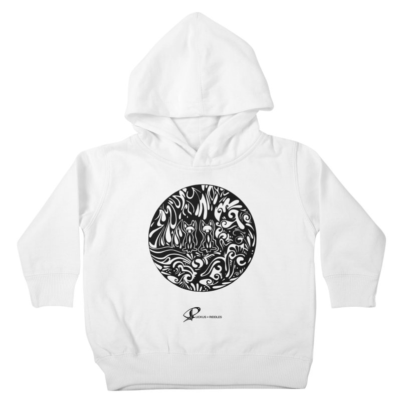 Foxes 2020 Kids Toddler Pullover Hoody by Ruckus + Riddles