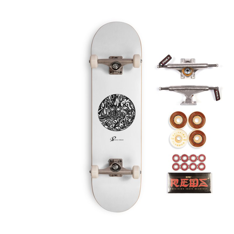 Foxes 2020 Accessories Skateboard by Ruckus + Riddles