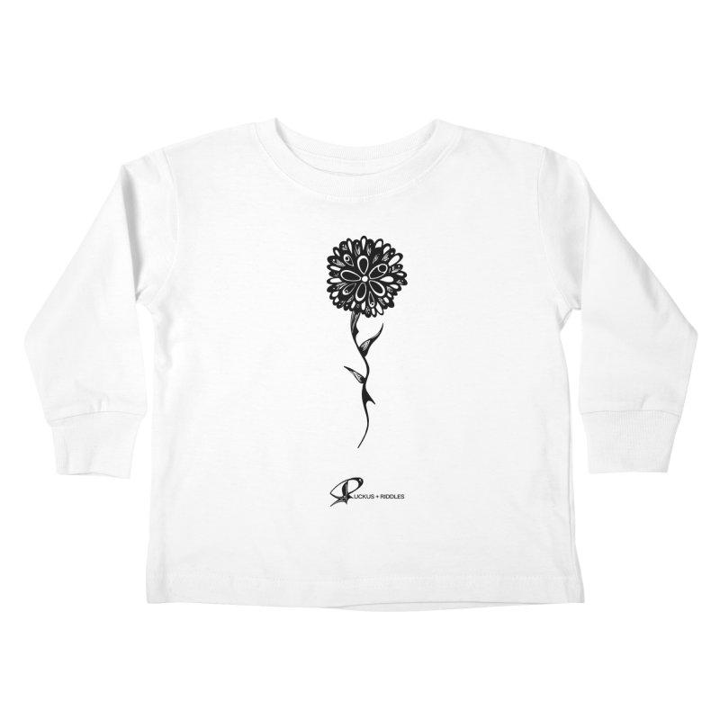 Flower A 2020 Kids Toddler Longsleeve T-Shirt by Ruckus + Riddles