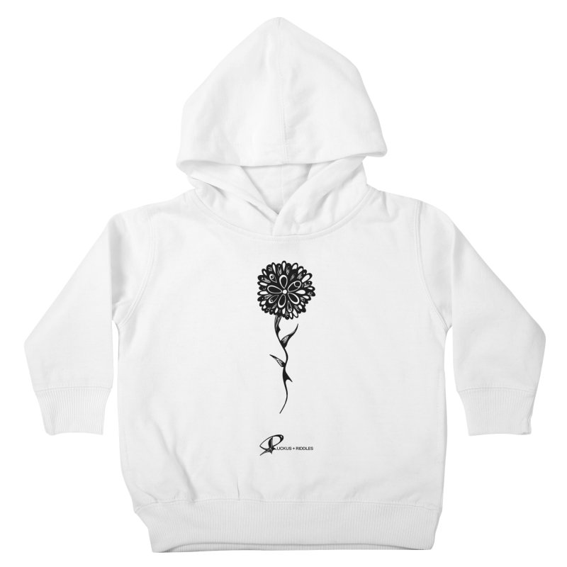 Flower A 2020 Kids Toddler Pullover Hoody by Ruckus + Riddles