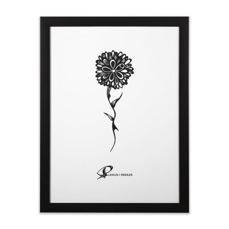 Flower A 2020 Home Framed Fine Art Print by Ruckus + Riddles