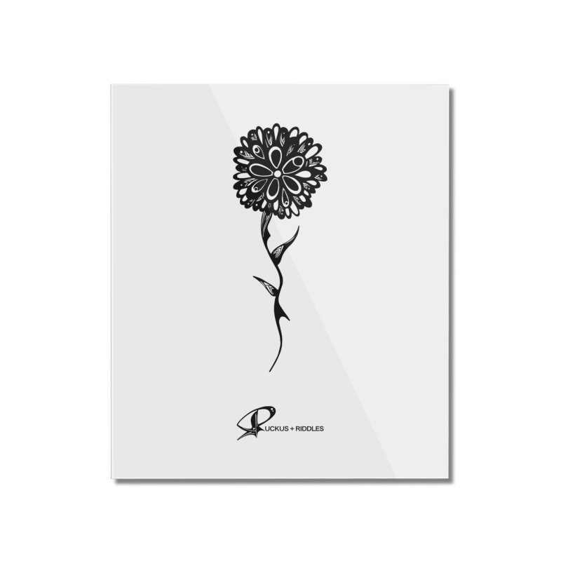 Flower A 2020 Home Mounted Acrylic Print by Ruckus + Riddles