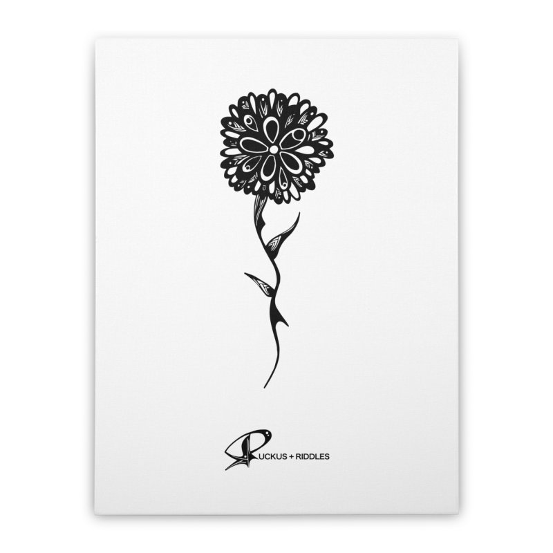 Flower A 2020 Home Stretched Canvas by Ruckus + Riddles