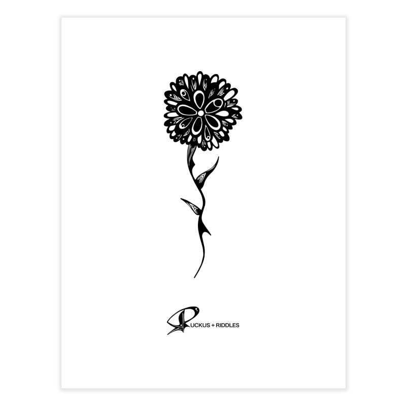 Flower A 2020 Home Fine Art Print by Ruckus + Riddles