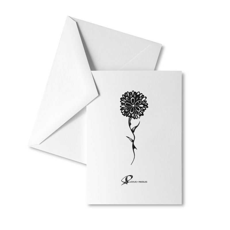 Flower A 2020 Accessories Greeting Card by Ruckus + Riddles