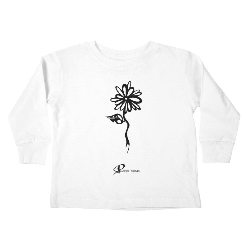 Flower B 2020 Kids Toddler Longsleeve T-Shirt by Ruckus + Riddles