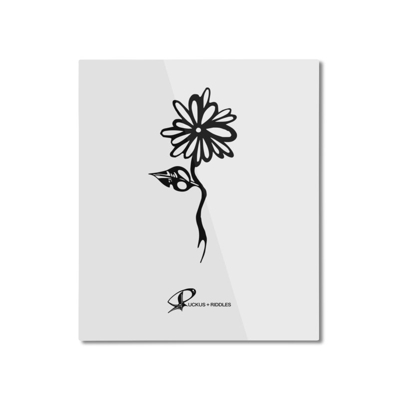 Flower B 2020 Home Mounted Aluminum Print by Ruckus + Riddles