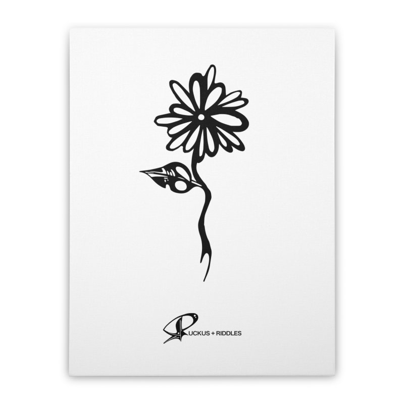 Flower B 2020 Home Stretched Canvas by Ruckus + Riddles