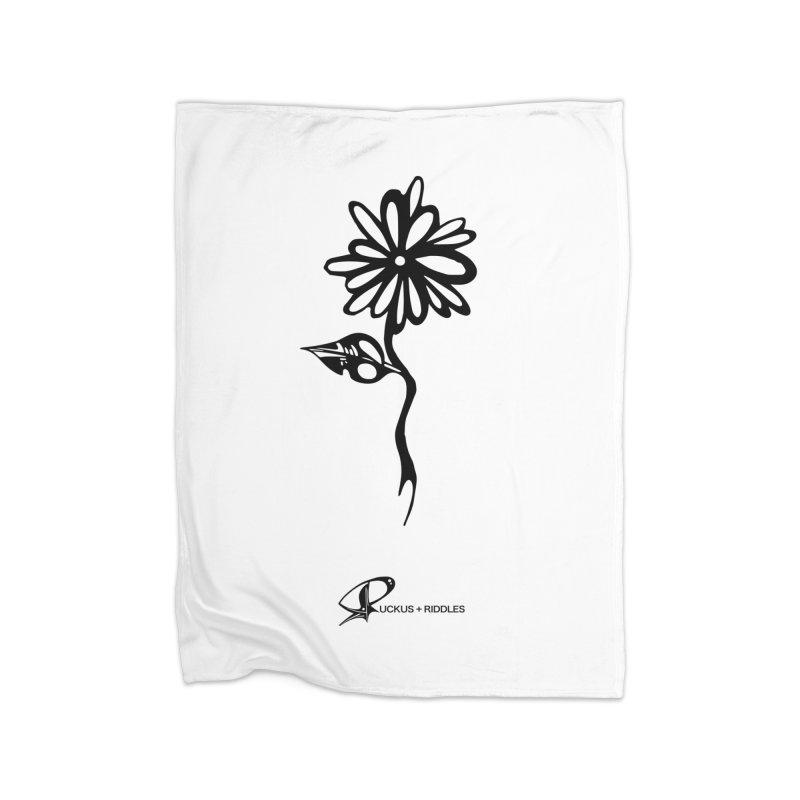 Flower B 2020 Home Blanket by Ruckus + Riddles