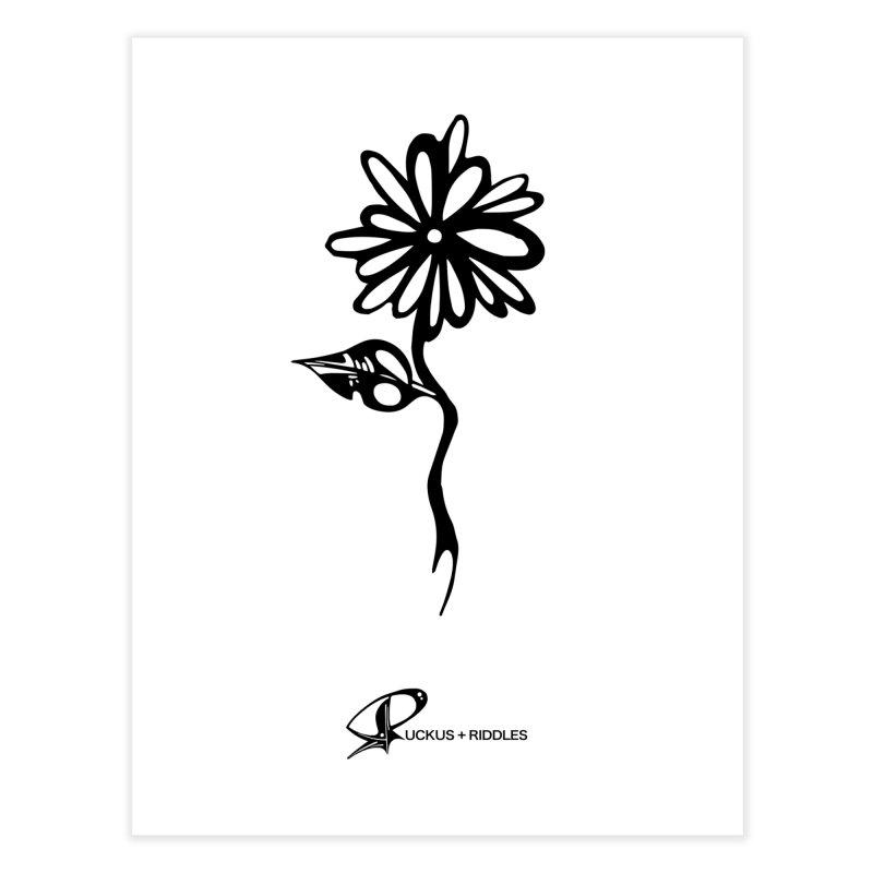 Flower B 2020 Home Fine Art Print by Ruckus + Riddles
