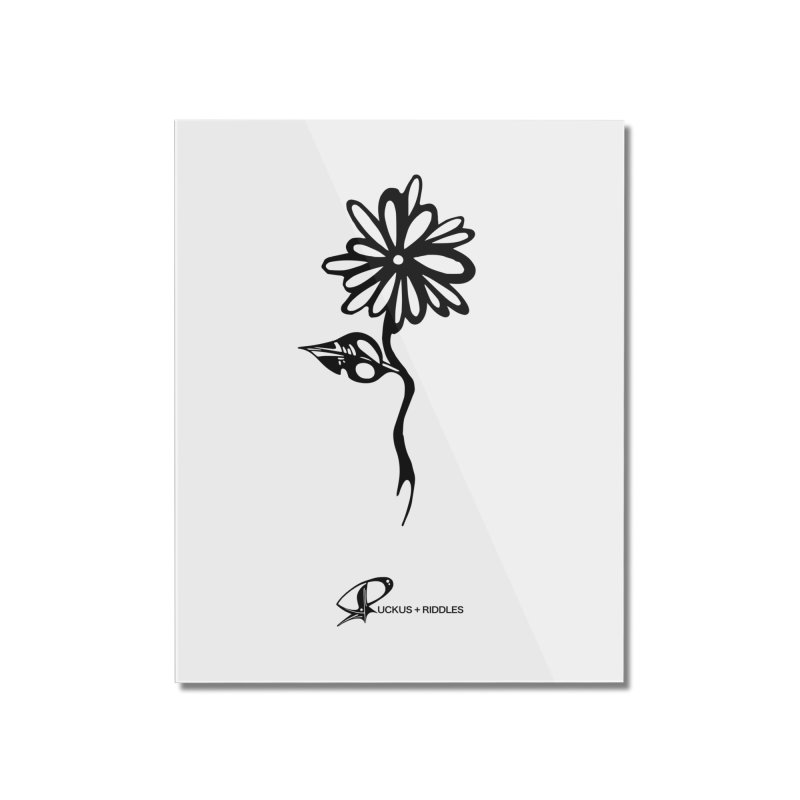 Flower B 2020 Home Mounted Acrylic Print by Ruckus + Riddles