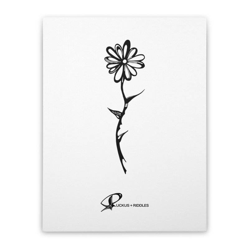 Flower C 2020 Home Stretched Canvas by Ruckus + Riddles
