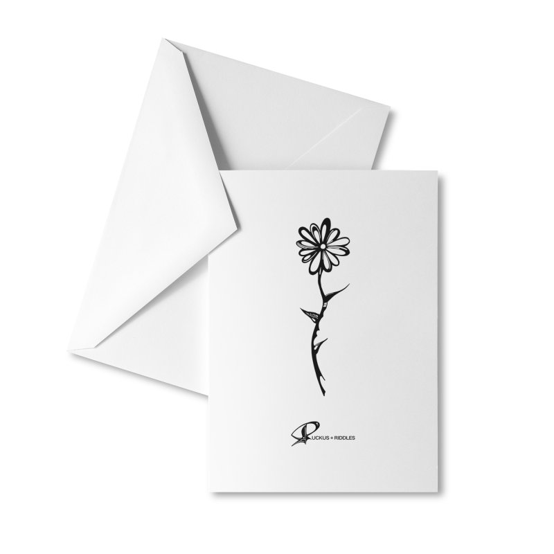 Flower C 2020 Accessories Greeting Card by Ruckus + Riddles