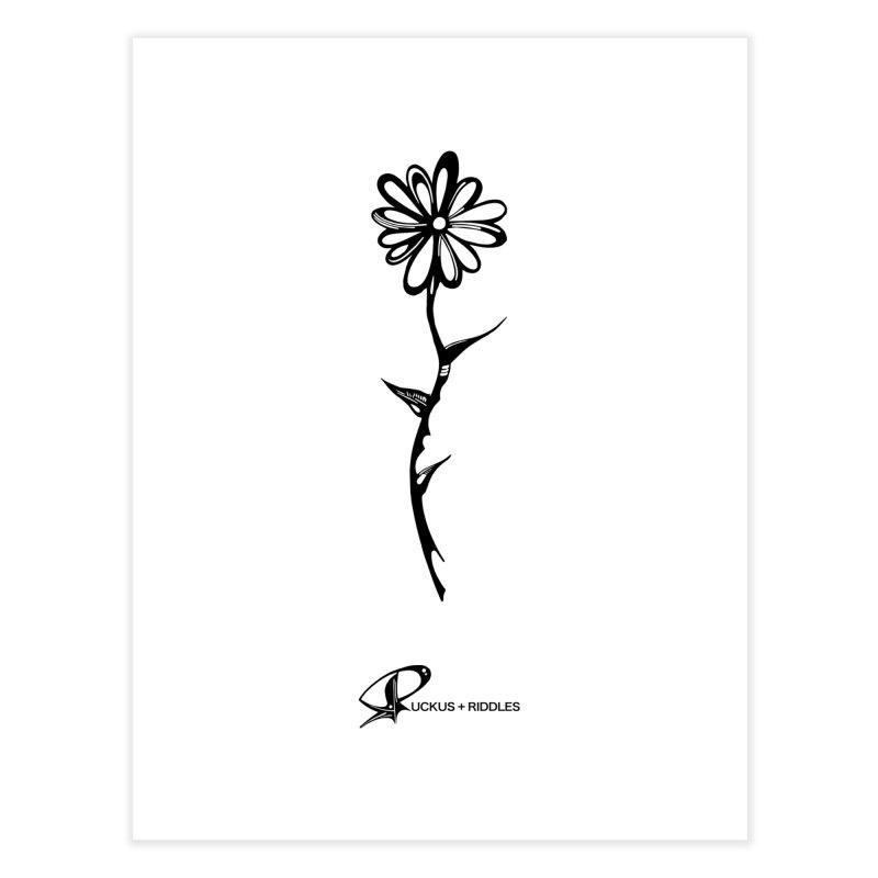 Flower C 2020 Home Fine Art Print by Ruckus + Riddles