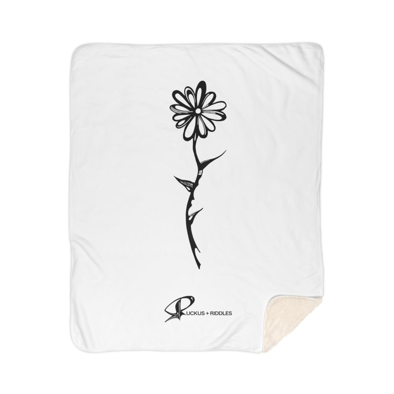 Flower C 2020 Home Blanket by Ruckus + Riddles