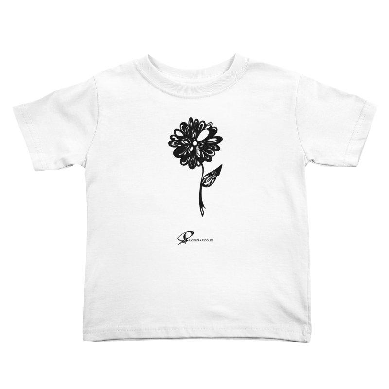 Flower D 2020 Kids Toddler T-Shirt by Ruckus + Riddles