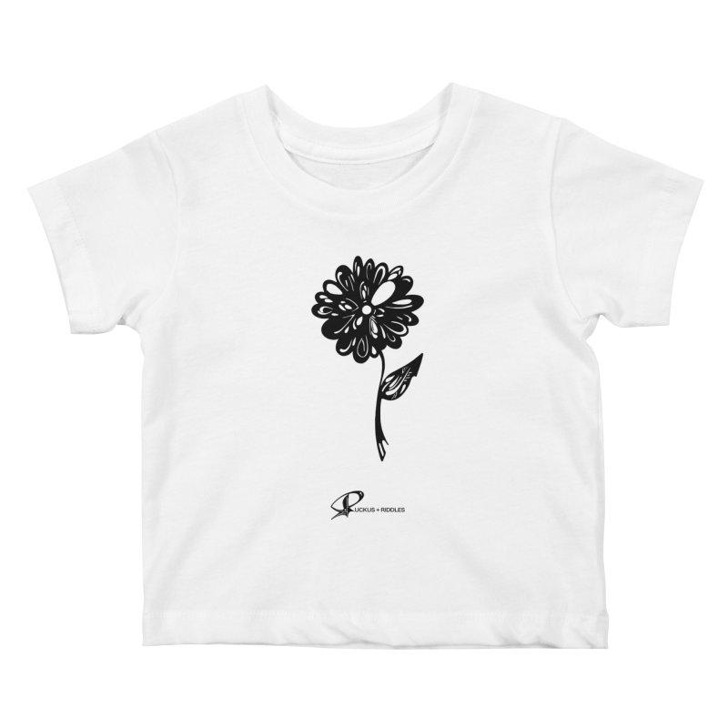Flower D 2020 Kids Baby T-Shirt by Ruckus + Riddles