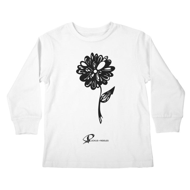 Flower D 2020 Kids Longsleeve T-Shirt by Ruckus + Riddles