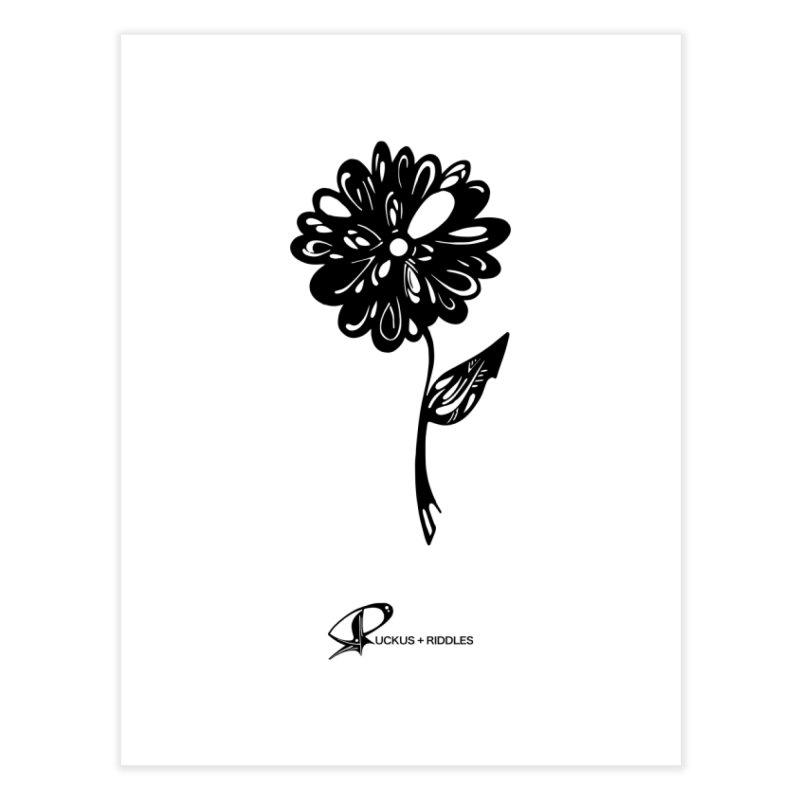 Flower D 2020 Home Fine Art Print by Ruckus + Riddles