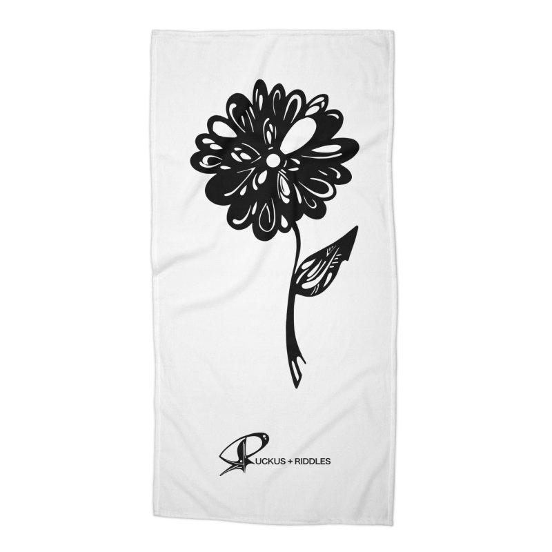 Flower D 2020 Accessories Beach Towel by Ruckus + Riddles