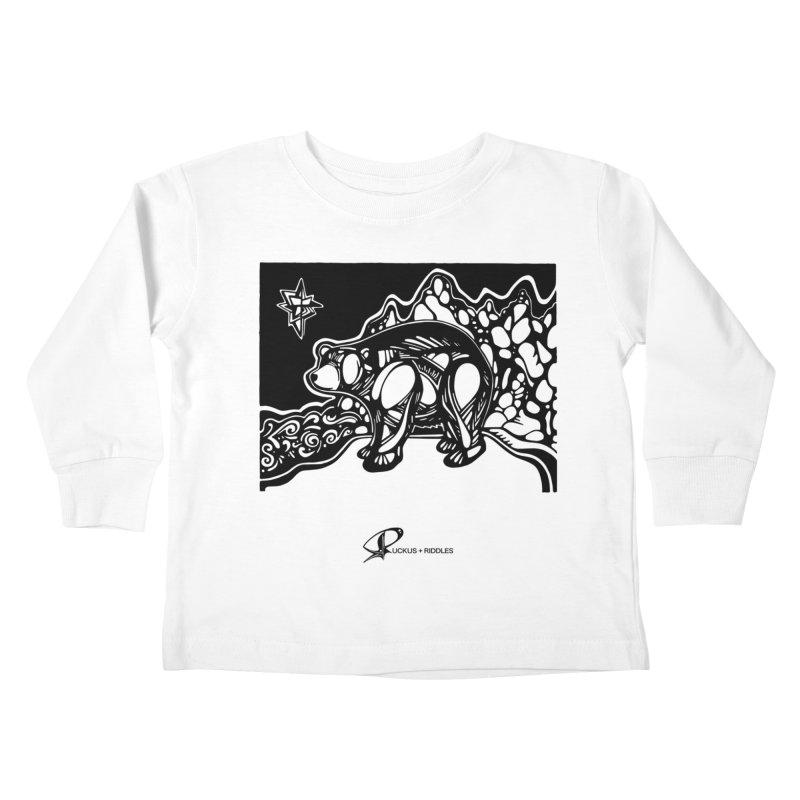 Bear 2020 Kids Toddler Longsleeve T-Shirt by Ruckus + Riddles