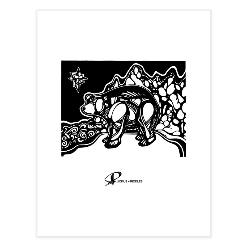 Bear 2020 Home Fine Art Print by Ruckus + Riddles
