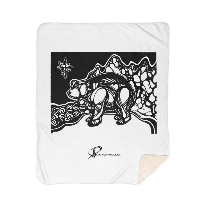 Bear 2020 Home Blanket by Ruckus + Riddles