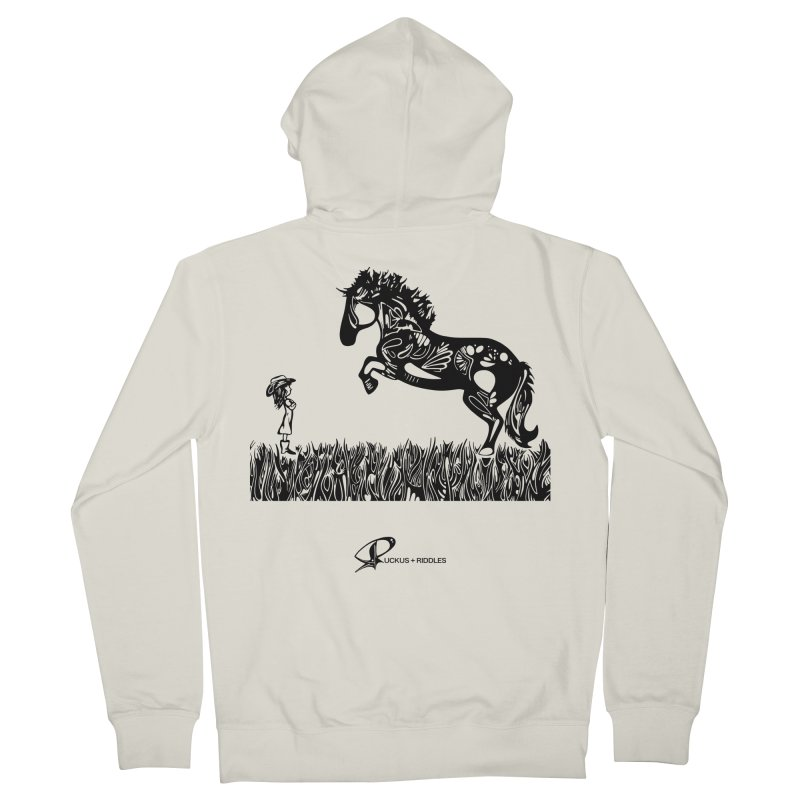 Girl and Horse 2020 Men's Zip-Up Hoody by Ruckus + Riddles